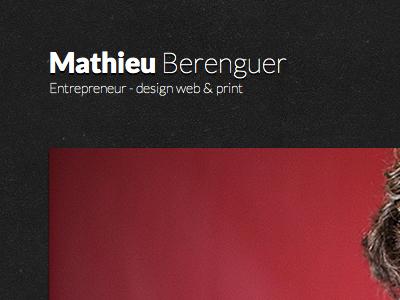 Mathieu Berenguer - Website
