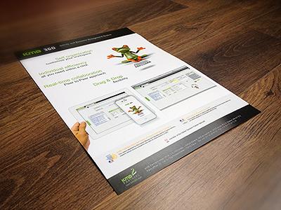 flyer presentation sheet for kmb