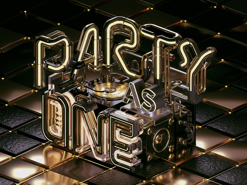 Heineken - Party As One (Black & Gold) by Machineast ...