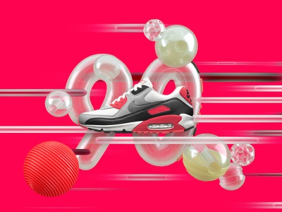 NIKE Air Max Day 2016 typography sports sneakers shoes nike max machineast design day air 3d 2016
