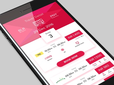 #Daily UI - Bus Booking App