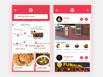 #Daily UI - Food Delivery App