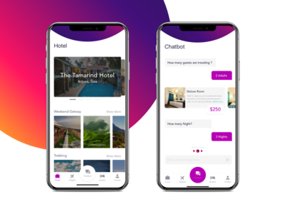 #Daily UI Travel App Iphonex