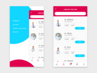 #Daily UI Contact Doctor APP