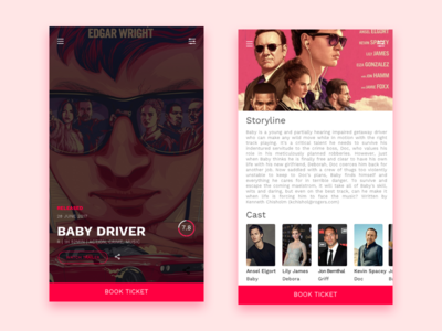 #Daily Ui Movie Ticket Booking   Review
