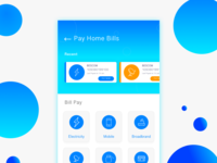 #Daily Ui Challange   Bill Pay