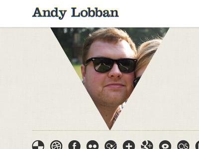 Lobban.org realign website personal