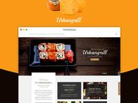 Urbangrill -  Restaurant Website