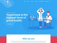 Website design for Onepharma