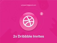02 Dribbble Invites