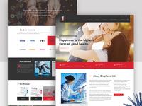 Onephama Homepage Design