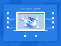 Illustration for ict Service Provider