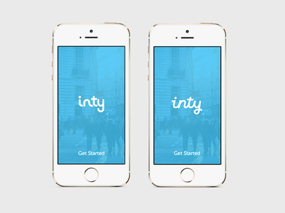 Which logo do you prefer? Left or Right? typography logo app