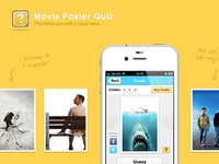 Movie Poster Quiz Landing Page