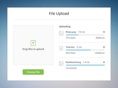 File Upload ux widget file upload clean ui