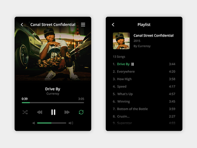 Music Player player music clean ui