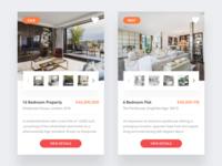 Property practice design clean ux ui