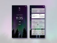 Mobile Notification Experience Concept