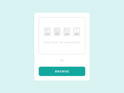 Daily UI #031: File Upload dailyui031 pop up popup modal file type file upload file upload ui ui design daily ui dailyui