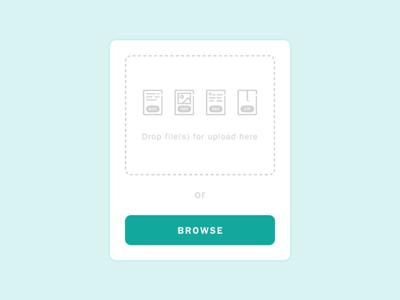 Daily UI #031: File Upload