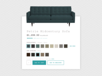 Daily UI #033: Customize Product