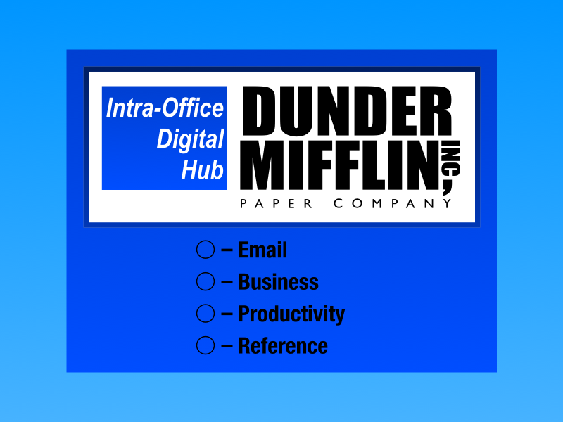 Dunder Mifflin Desktop Wallpaper by Jenn Upton on Dribbble