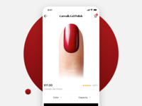 Indigo Nails – eCommerce iOS App