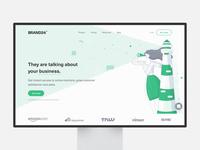 Brand24 | Landing Page