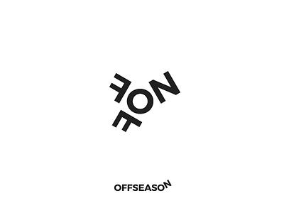 offseasON logo mark snowboarding snowboard skiing offseason identity branding logo