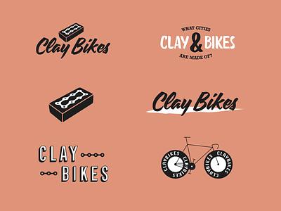 Clay Bikes Branding / Logoset logoset exploration illustrat bike bicycle branding brand logo