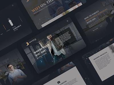 Landing page - Wifi on the go! concept design landingpage userinterface uiux ui visual webdesign website