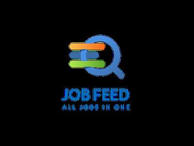 Job Feed logo branding logo icon app