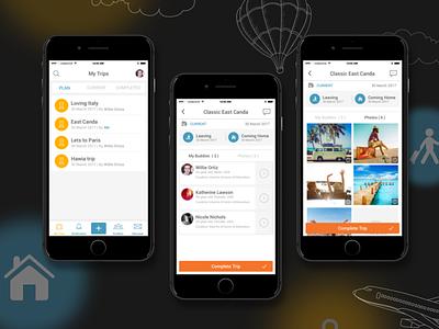Travelbud app ios app travel interaction design wireframes behance dribbble