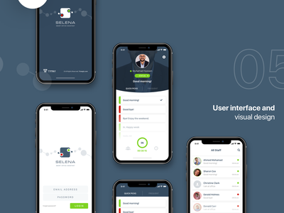 Selena workflow android application interaction prototyping logo ios ux ui dribbble branding illustration identity behance wireframes app design