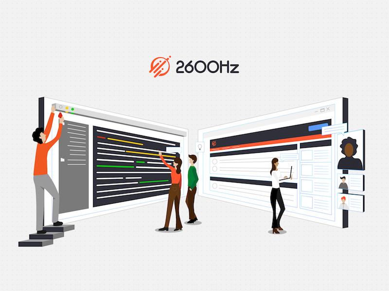 2600hz Community illlustration