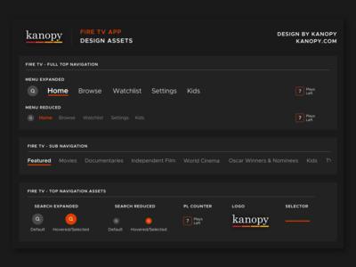 Kanopy Fire Tv App - Design Assets Library