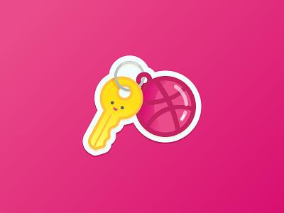 Dribbble - key to creativity keychain paly creativity key stickermule dribbble