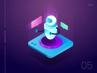 Talkbot - An interactive agent