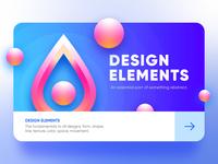 Design Elements Ui card