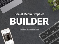 Social Media Graphics Builder - Free Sample