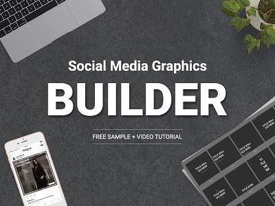 Social Media Graphics Builder - Free Sample banner banner design design instagram pinterest twitter facebook marketing social media