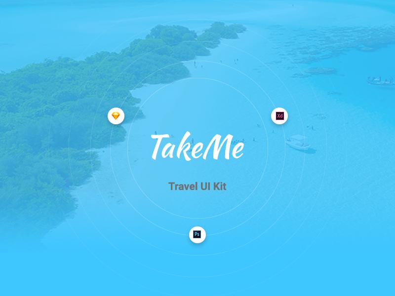 TakeMe – Free UI Kit