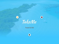 TakeMe - Free UI Kit