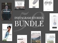 50 Instagram Stories Bundle