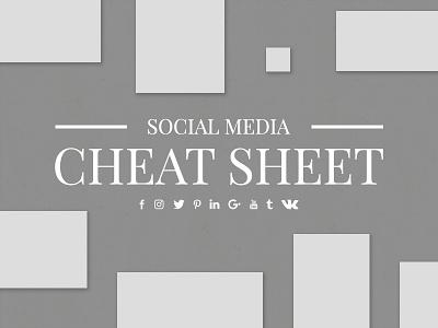 Social Media Cheat Sheet instagram psd template insta profile instagram profile template social media template instagram template web donut instagram feed planner instagram
