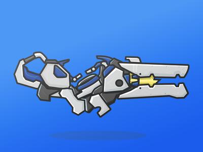 Zarya's Gun