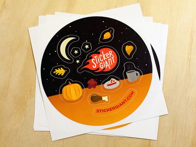 Fall Sticker Sheet