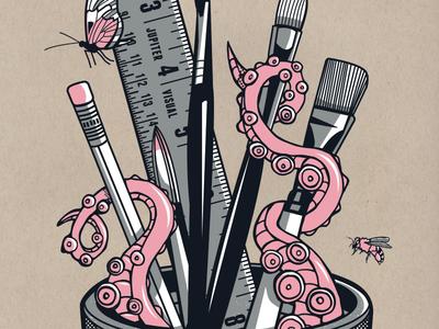 Ween Art Show Poster Detail