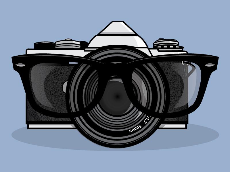Lenses illustration illustrator 50mm jupitervisual vector lens glasses camera