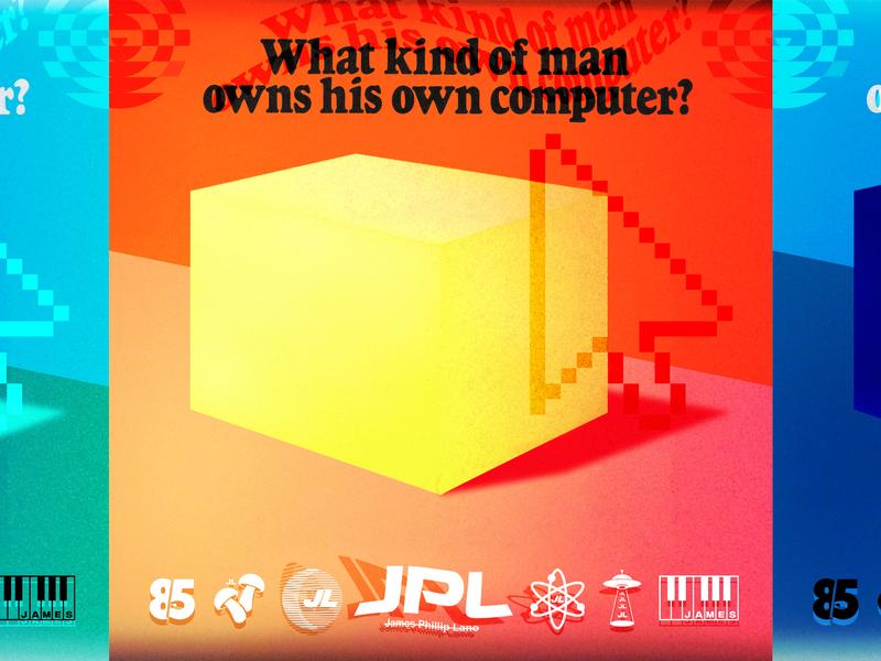 JPL Labs. typography branding collage vector identity logo design logo logos logo mark cube photoshop graphic design designer design